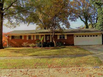 North Little Rock Single Family Home New Listing: 4509 Crestline Drive