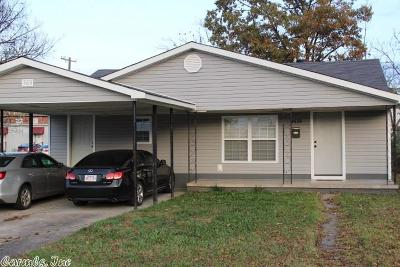 North Little Rock Single Family Home New Listing: 3414 Parker Street