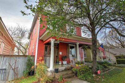 Little Rock Single Family Home For Sale: 110 S Schiller Street