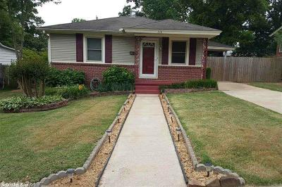 North Little Rock Single Family Home New Listing: 326 W L Avenue