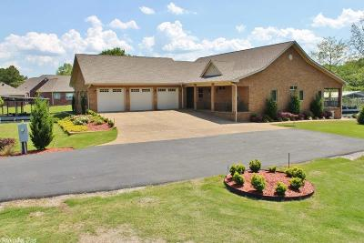 Garland County Single Family Home For Sale: 123 Coldwater Point