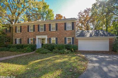 Little Rock Single Family Home For Sale: 5405 Sherwood Road