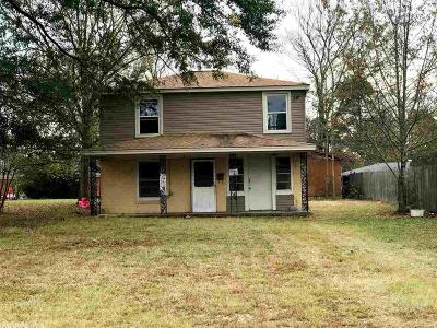 Malvern AR Single Family Home For Sale: $11,500
