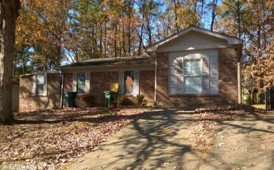 Little Rock Single Family Home Under Contract: 2610 Daisy Cove