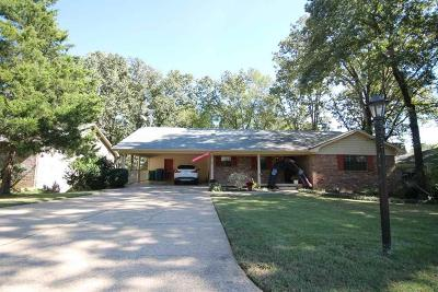 Little Rock Single Family Home Price Change: 1109 Biscayne