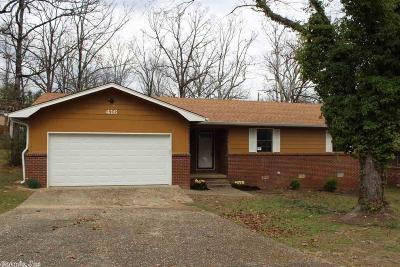 North Little Rock Single Family Home New Listing: 416 Green Oak Drive