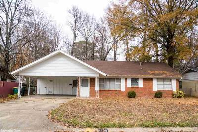 Little Rock Single Family Home New Listing: 6108 Myerson Drive
