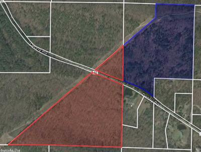 Little Rock Residential Lots & Land For Sale: 80 acres Denny Road