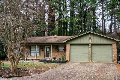 Little Rock Single Family Home New Listing: 2303 Ridge Park Drive