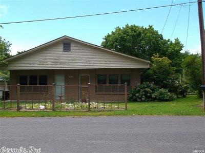 Hot Springs AR Single Family Home New Listing: $65,000
