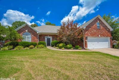 Bryant Single Family Home Price Change: 3718 Millbrook Drive