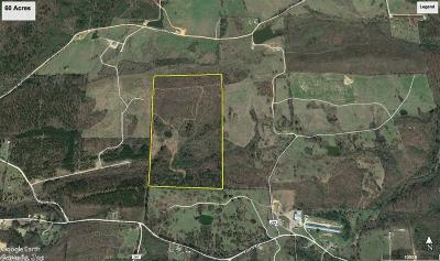 Arkadelphia, Bismarck Residential Lots & Land For Sale: 60 acres Broken Bow Lane