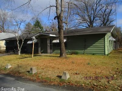 Pine Bluff AR Single Family Home For Sale: $22,500