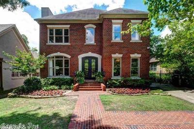 Little Rock Single Family Home For Sale: 5421 Hawthorne
