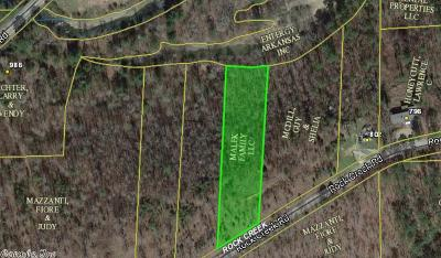 Garland County, Hot Spring County, Jefferson County, Saline County Residential Lots & Land New Listing: Rock Creek Road