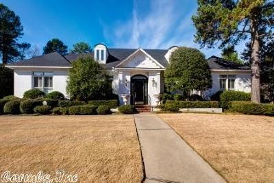 Little Rock Single Family Home Price Change: 202 Hickory Creek Lane
