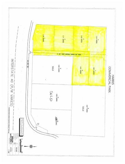 Morrilton Residential Lots & Land For Sale: Lots 1-4,6-7 Harris Commercial Park