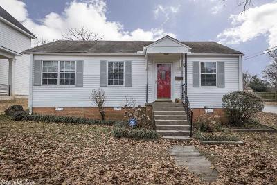 Little Rock Single Family Home Price Change: 2201 Westover Drive
