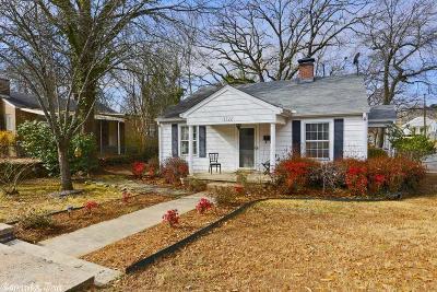 Little Rock Single Family Home For Sale: 1122 N Tyler
