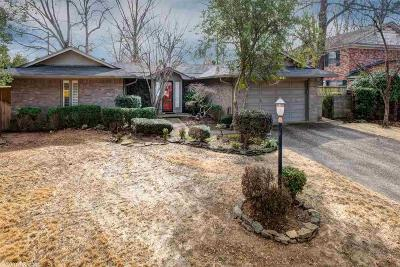 Little Rock Single Family Home New Listing: 7611 Choctaw Road