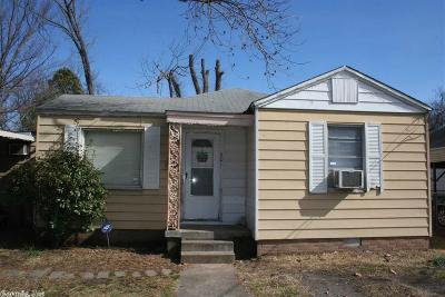 North Little Rock Single Family Home New Listing: 301 Boggs Street