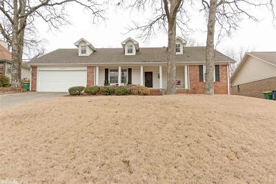 North Little Rock Single Family Home New Listing: 8008 Coleridge Drive