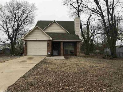 Little Rock AR Single Family Home New Listing: $95,000