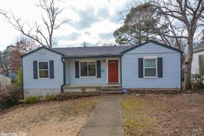 Little Rock AR Single Family Home New Listing: $169,000