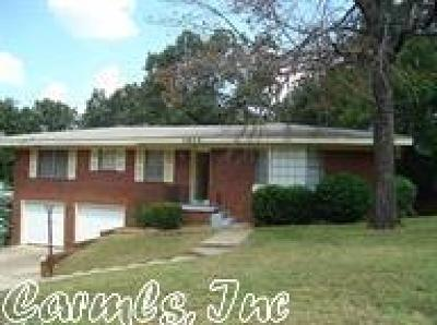 North Little Rock Single Family Home New Listing: 1904 Arrowhead