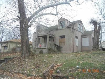 Little Rock AR Single Family Home New Listing: $10,000