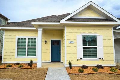 Little Rock Single Family Home New Listing: 120 Nantucket Loop