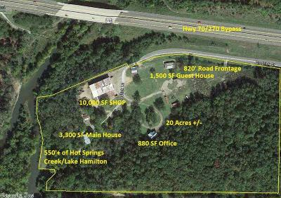 Garland County Commercial For Sale: 1xx Brodrick Ln