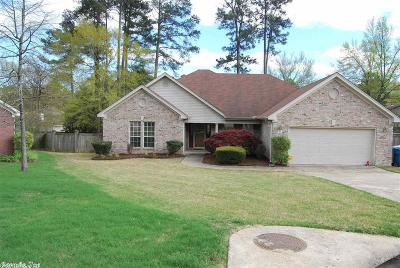 Little Rock Single Family Home Price Change: 22 Pine Breeze Court