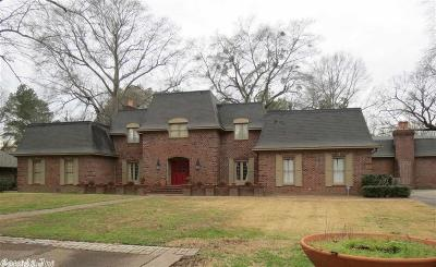 Pine Bluff Single Family Home For Sale: 21 Elm Woods Circle