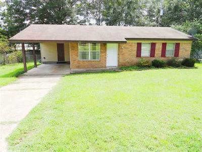 Sheridan AR Single Family Home For Sale: $87,900