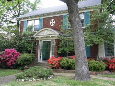 Little Rock Single Family Home For Sale: 1418 Kavanaugh Blvd.
