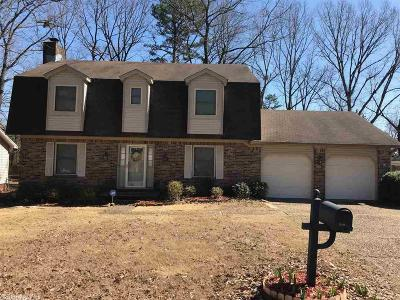 Little Rock Single Family Home Back On Market: 2401 Peach Tree Drive