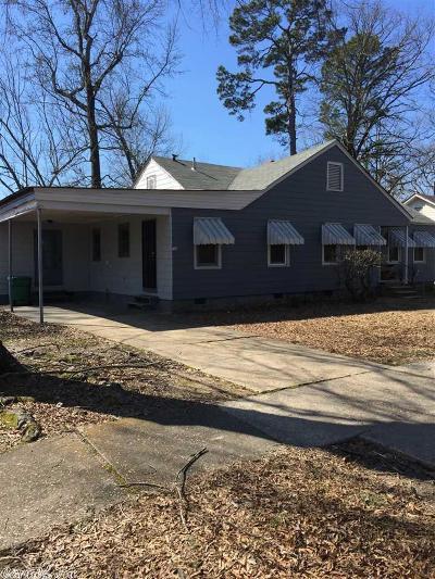 Pine Bluff Multi Family Home Price Change: 1300 W 26