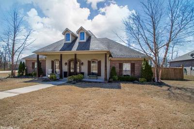 Little Rock Single Family Home Price Change: 1000 Dundee Court