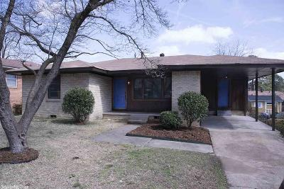 Little Rock Single Family Home Price Change: 1913 S Harrison Street