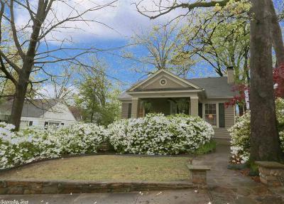 Little Rock Single Family Home Take Backups: 920 N Monroe