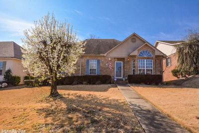 Little Rock Single Family Home Back On Market: 12501 Gleneagles Drive