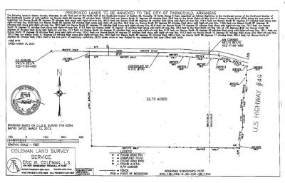 Paragould Residential Lots & Land For Sale: 4998 Hwy 49 S