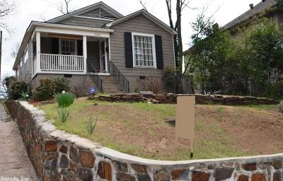 Little Rock Single Family Home New Listing: 1202 Kavanaugh Boulevard