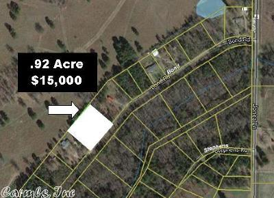 Morrilton Residential Lots & Land For Sale: Lots 56 & 57 Bond Road