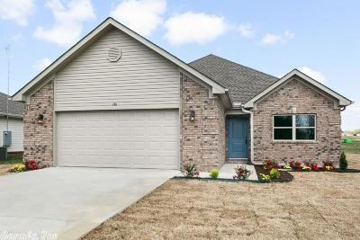 Beebe Single Family Home Price Change: 146 Meadow Drive