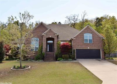 Maumelle Single Family Home Price Change: 15 Mountain Ridge Cove