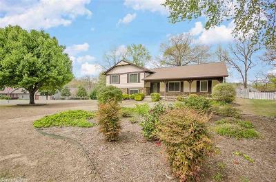 Little Rock AR Single Family Home Back On Market: $225,000