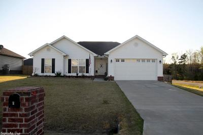 Hensley AR Single Family Home Price Change: $155,500