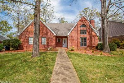 Maumelle Single Family Home For Sale: 8 Blue Mountain Drive